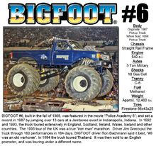 BIGFOOT-6
