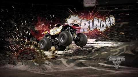 Monster Jam - Monster Jam- Path of Destruction - Grinder Monster Truck Highlights
