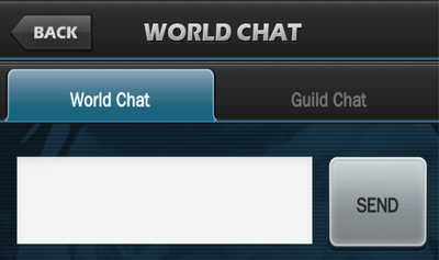 World Chat Screen
