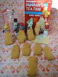 Moomin thimbles cookies