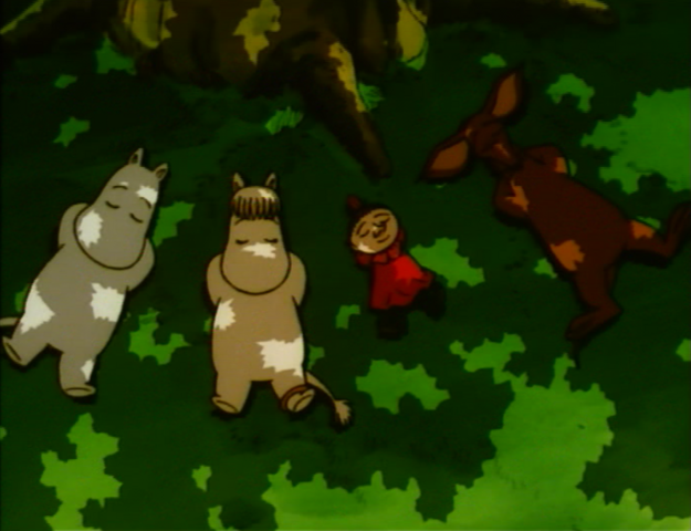 File:Moomintroll, Little My, Sniff and Snork Maiden.png