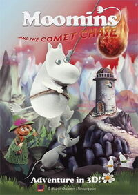 Moomins and the Comet Chase poster