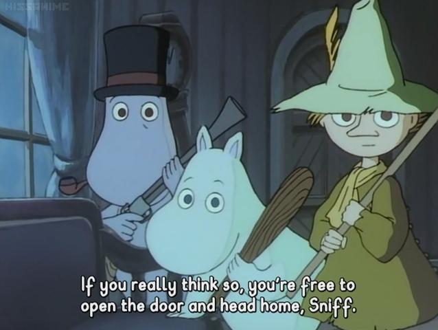 File:Moominpappa, Snufkin and Moomintroll.png
