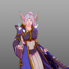 Done by our lovely guildie, <a rel=