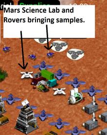 MoonBase Inc Mars science lab