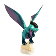 Cupcake flying