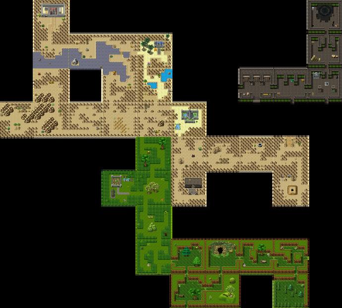 Map half