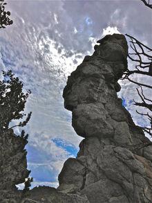 Rock spire