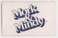 Mork & Mindy Card Game - Card Backs