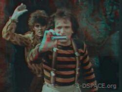 Mork and Mindy Gotta Run 3-D