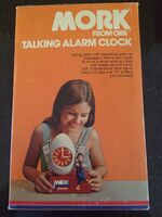 Mork from Ork Talking Alarm Clock 07 Box Side