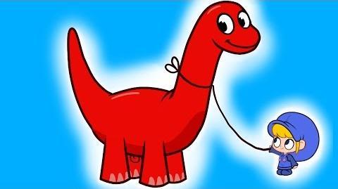 My Pet Dinosaur ( My Magic Pet Morphle Episode -2)
