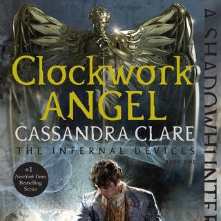 Repackaged <i>Clockwork Angel</i> US edition cover