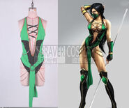 Mortal-Kombat-9-font-b-Jade-b-font-Cosplay-Costume-DELUXE-Edition-Cosplay-Costume-for-plus