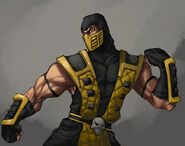 Commish scorpion lover by madiblitz-d4npscw