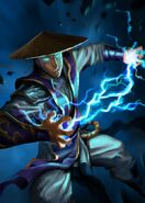 Mortal kombat young raiden by cloudintrousers1