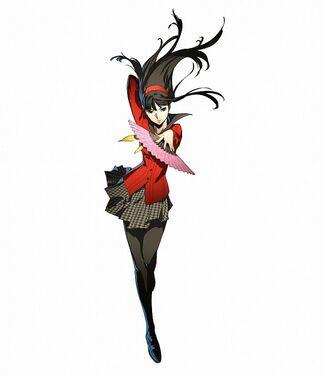 Yukiko appear Persona 4 Ultimate Mayona Areana