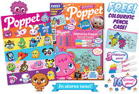 Poppet Mag issue 5 packaging