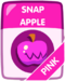 Pink Snap Apple
