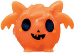 Squidge figure pumpkin orange