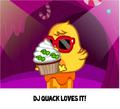 Moshi Cupcakes DJ Quack caught