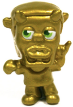 49 Pence figure gold