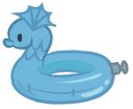 Bodacious Blue Dragon Floaty