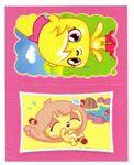Sticker Poppet double 75-187