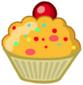 Egg Hunt food Tasty Cupcake
