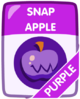 Purple Snap Apple