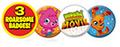 Moshi movie badges