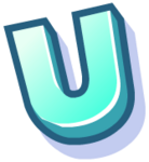 WallScrawl Alphabet - U