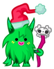 Twistmas Hoodoo green