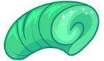 Green Rockabilly Wig