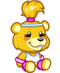 Goldie the Scare Bear