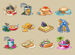 Meelisselim pirate food items