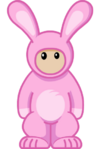 Colossal Cuddly Easter Bunny