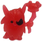 Big Bad Bill figure glitter red