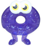 Oddie figure glitter purple