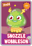 Collector card s5 snozzle wobbleson