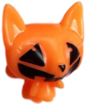 Lady Meowford figure pumpkin orange