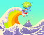 The Great Wave Rider