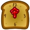 Toast Clock