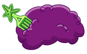 Purple Disco Wig