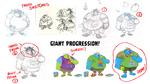 Punzai beanstalk giant