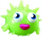 Blurp figure scream green