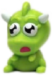 Snookums figure goo green