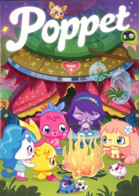 Poppet Magazine issue 8 cover front