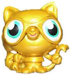 Raffles figure gold
