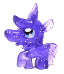 Priscilla figure glitter purple